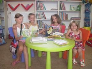 Lato wbibliotece